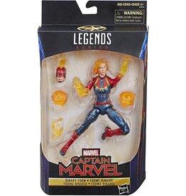 "Hasbro Marvel Legends 6"" Captain Marvel Binary Form Action Figure"