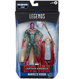 "Hasbro Avengers Endgame Marvel Legends 6"" Vision Action Figure (Thor BAF)"