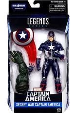 "Hasbro Captain America Civil War Marvel Legends 6"" Secret War Captain America Action Figure (Abomination BAF)"