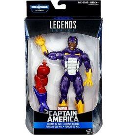 """Hasbro Captain America Civil War Marvel Legends 6"""" [Forces of Evil] Cottonmouth Action Figure (Red Skull BAF)"""