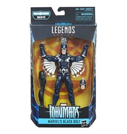 "Hasbro Inhumans Marvel Legends 6"" Black Bolt Action Figure (Okoye BAF)"