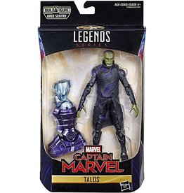 "Hasbro Captain Marvel Marvel Legends 6"" Talos Action Figure (Kree BAF)"