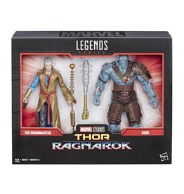 Hasbro Marvel Legends Thor: Ragnarok 6-Inch Movie-Inspired Grandmaster and Korg Collectible Action Figure 2-Pack