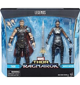"Hasbro Marvel Legends 6""  Thor Ragnarok 2-Pack Thor and Valkyrie"
