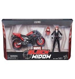 "Hasbro Ultimate Marvel Legends 6"" Black Widow"