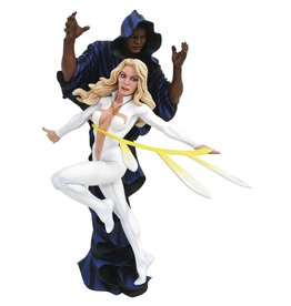 Diamond Select Toys Marvel Gallery Cloak & Dagger 9-Inch Collectible PVC Statue