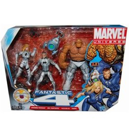 Hasbro Marvel Universe Super Hero Team Packs Fantastic Four Action Figure 4-Pack [Future Foundation White Uniforms]