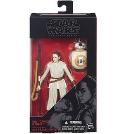 "Hasbro Star Wars Black Series 6"" Jakku Rey & BB-8 #02"