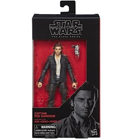 "Hasbro Star Wars  Black Series 6"" Captain Poe Dameron (The Last Jedi) Action Figure"