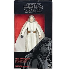"Hasbro Star Wars The Last Jedi Black Series 6"" Luke Skywalker [Jedi Master] Action Figure (The Last Jedi)"