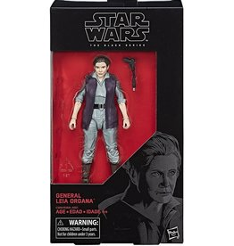 "Hasbro Star Wars Black Series 6"" General Leia Organa (The Force Awakens) Action Figure"