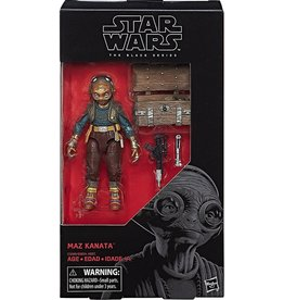 "Hasbro Star Wars  Black Series 6"" Maz Kanata (The Last Jedi) Action Figure"
