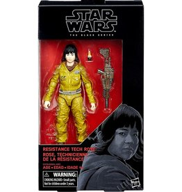 "Hasbro Star Wars Black Series 6"" Resistance Tech Rose ( The Last Jedi) Action Figure"