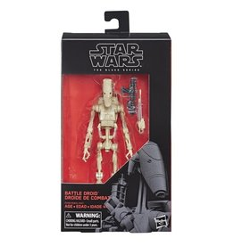 Hasbro Star Wars  Black Series 6-inch Battle Droid (Phantom Menace) Action Figure