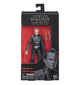 Hasbro Star Wars Black Series 6-inch Dryden Vos (Solo A Star Wars Story) Action Figure