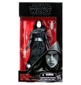 Hasbro Star Wars Black Series 6-inch Kylo Ren Unmasked ( The Force Awakens) Action Figure