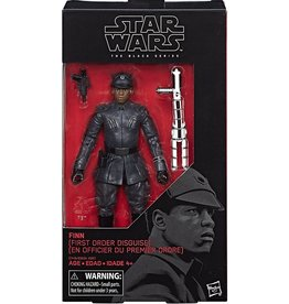 Hasbro Star Wars Black Series 6-inch Finn [First Order Disguise] (The Last Jedi) Action Figure