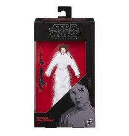 "Hasbro Star Wars: The Black Series 6"" Princess Leia Organa (A New Hope) Action Figure"