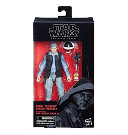Hasbro Star Wars Black Series 6-inch Rebel Trooper (Rogue One) Action Figure