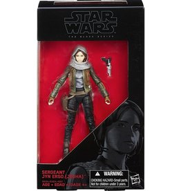 Hasbro Star Wars Black Series 6-inch Sergeant Jyn Erso [Jedha] (Rogue One ) Action Figure
