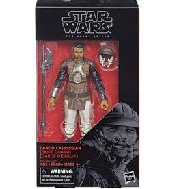 Hasbro Star Wars Black Series 6-inch Lando Calrissian (Return of the Jedi) Action Figure [Skiff Guard Disguise]