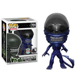 Funko Pop! Movies: Alien Specialty Series - Xenomorph (Blue Metallic)