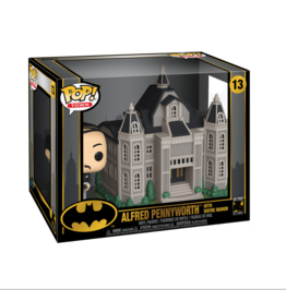 Funko Funko DC Batman 80th POP! Town Alfred Pennyworth with Wayne Manor Vinyl Figure Set #13