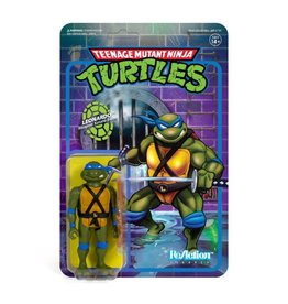 Super7 TMNT ReAction Leonardo Figure