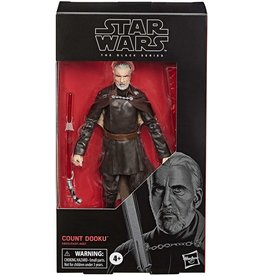 "Hasbro Star Wars: The Black Series 6"" Count Dooku (Attack of the Clones)"
