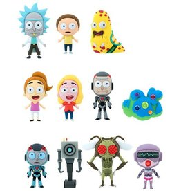 Monogram Rick and Morty 3D Figural Keychain Individual Mystery Pack