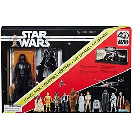 Hasbro Star Wars A New Hope Black Series 40th Anniversary Darth Vader Legacy Pack Action Figure