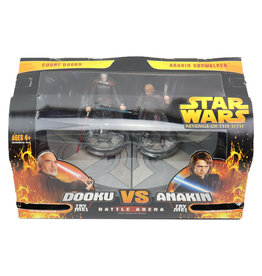 Hasbro Star Wars Revenge of the Sith Battle Arena - Count Dooku Vs. Anakin Skywalker