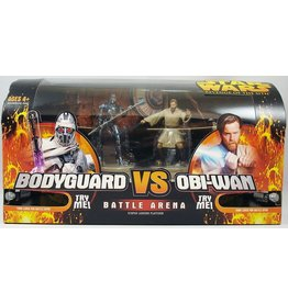 Hasbro Star Wars Revenge of the Sith Battle Arena - Bodyguard vs Obi-Wan