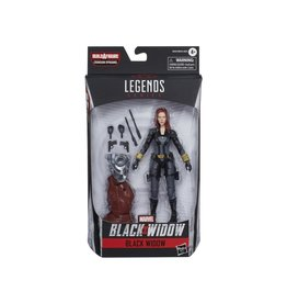 Hasbro Black Widow Marvel Legends Black Widow Action Figure (Crimson Dynamo BAF)