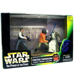 Hasbro Star Wars A New Hope Power of the Force POTF2 Deluxe Cantina Showdown Action Figure Set