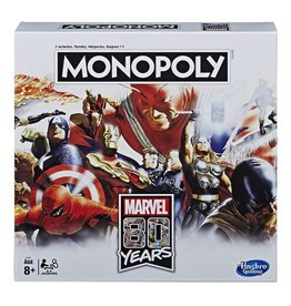 Hasbro Marvel 80th Anniversary Edition Monopoly Game