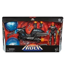 Hasbro Marvel Legends Cosmic Ghost Rider 6-Inch Action Figure with Bike Vehicle