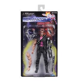 NECA Terminator 2 – 7″ Power Arm Terminator w/Spike Arm & Grabbing Claw Action Figure – Kenner Tribute
