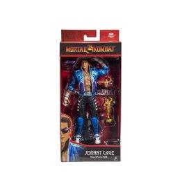 McFarlane Toys Mortal Kombat XI Johnny Cage (Hollywood Hunk) Action Figure