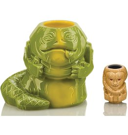 Geeki Tikis Star Wars Jabba The Hutt 40 Oz. Geeki Tikis Mug with Bib Fortuna Muglet