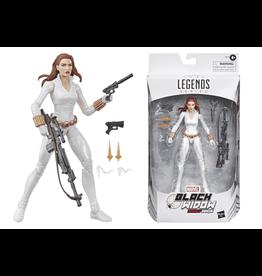Hasbro Marvel Legends Deadly Origin Black Widow Exclusive Action Figure [White Costume]