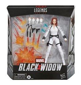 Hasbro Marvel Legends Black Widow Deluxe Action Figure [White Costume]