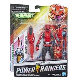 Hasbro Power Rangers Beast Morphers Basic Red Ranger