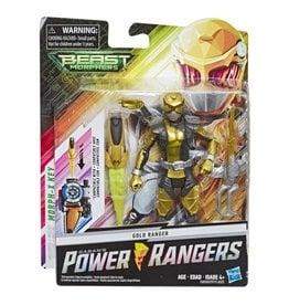 Hasbro Power Rangers Beast Morphers Basic Gold Ranger