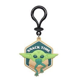 Monogram Star Wars: The Mandalorian The Child Snack Time Soft Touch PVC Bag Clip