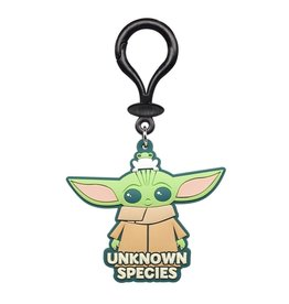 Monogram Star Wars: The Mandalorian The Child Unknown Species Soft Touch PVC Bag Clip