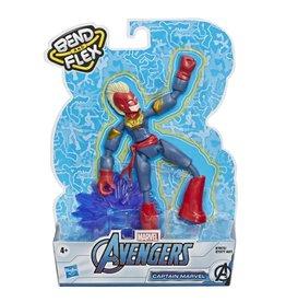Hasbro Marvel Avengers Bend and Flex Captain Marvel Figure