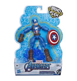 Hasbro Marvel Avengers Bend and Flex Captain America