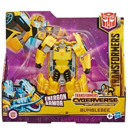 Hasbro Transformers Cyberverse Battle for Cybertron Bumblebee Ultra Action Figure
