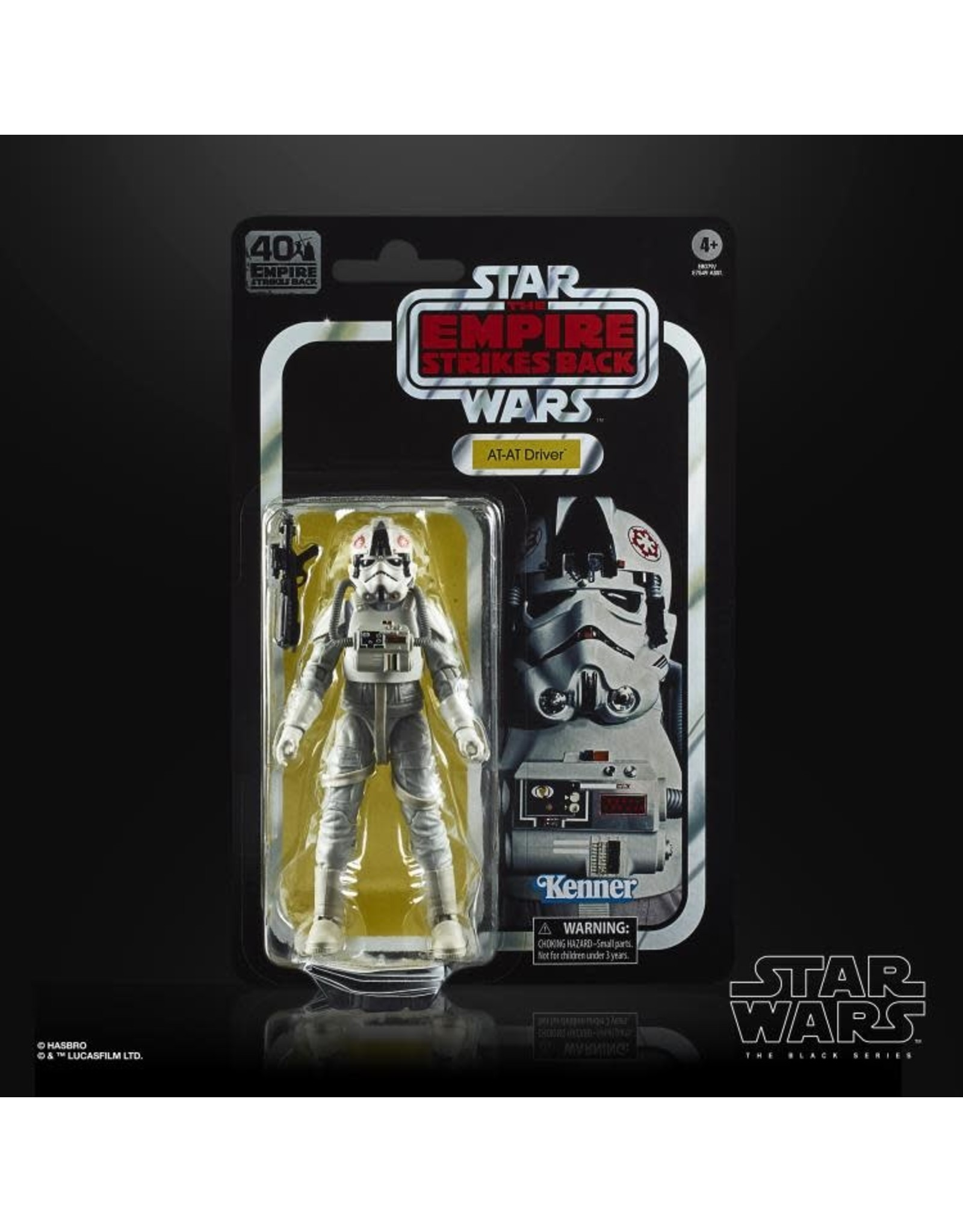 Star Wars Black Series 40th Anniversary Retro Action Figure AT-AT Driver